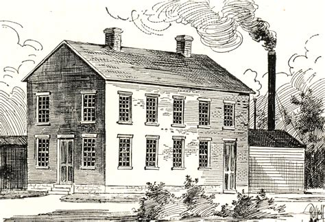 concordia publishing house drawing of concordia publishing house in 1870 image concordia theological seminary