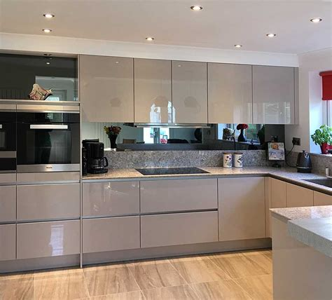 enviable kitchen design of a modern kitchen and bathroom makeovers barnsley nobilia
