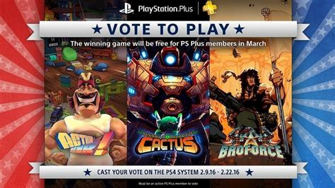 broforce gets full game release in march voting opens for march s free ps4 indie game feb 9 news