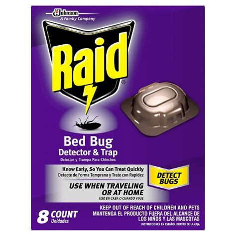 raid for bed bugs raid bed bug detector trap 8ct target