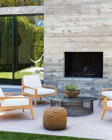 25 best ideas about modern outdoor fireplace on