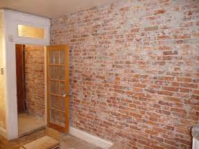 Painting A Faux Brick Wall - kitchen brick wallpaper 2017 grasscloth wallpaper