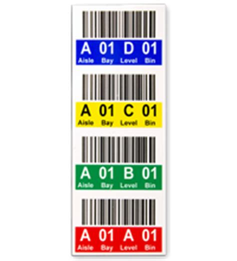 Warehouse Rack Labels by Warehouse Location Rack Signs Warehouse Scanners Elsavadorla