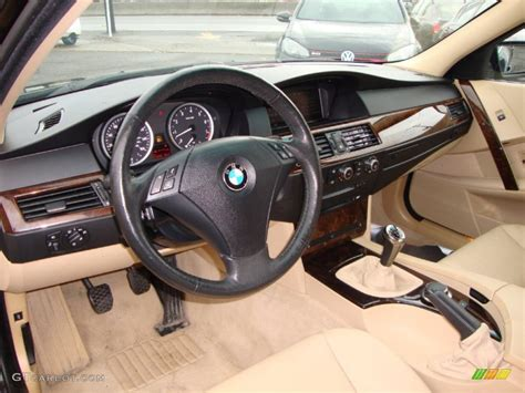 2007 bmw interior beige interior 2007 bmw 5 series 530xi sedan photo
