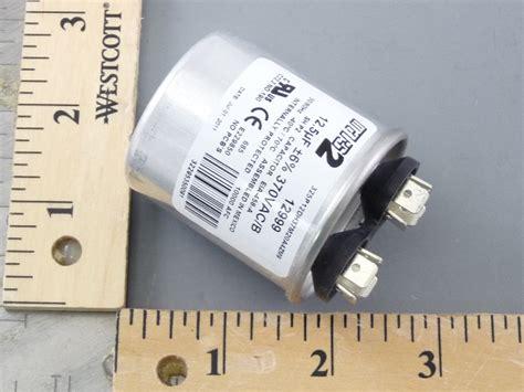 mars 2 capacitors mars 12999 12 5mfd 370v rnd run capacitor