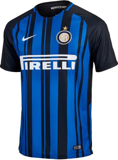 Jersey Bola Inter Milan Home 2017 2018 Official Grade Ori nike inter milan home jersey 2017 18