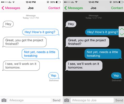 message themes for iphone 6 customize the look of the messages app with messages