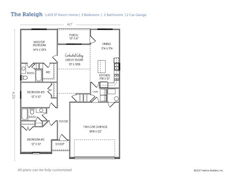 the u raleigh floor plans the u raleigh floor plans the raleigh harlow builders inc