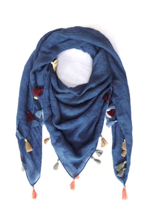 new prospects multi colored tassel scarf from wisconsin by