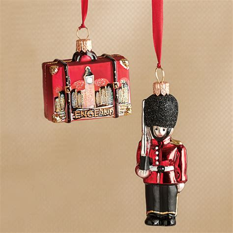 palace guard england suitcase christmas ornament gump s