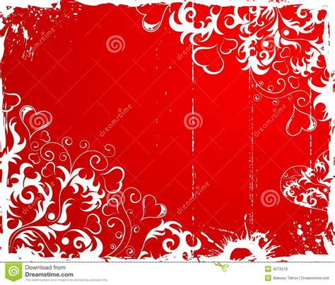 grunge flower frame royalty free stock image image 3187236 valentines day grunge frame with hearts and flower royalty free stock images image 4073279