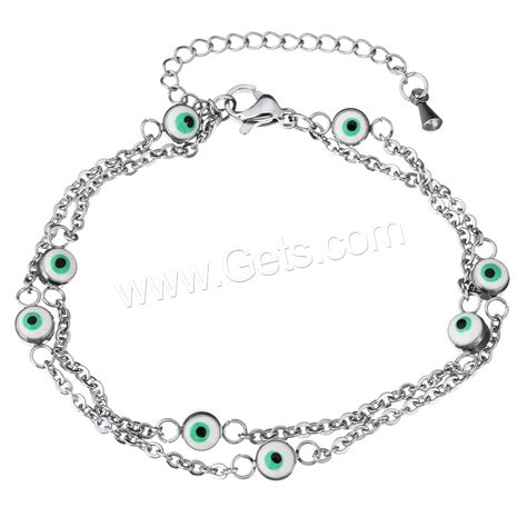 Handbag 1503 2in stainless steel chain bracelets with 2inch extender chain