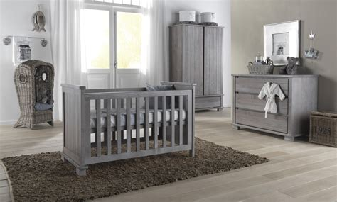 Kidsmill Malmo Grey Shabby Chic Nursery Furniture Set Gray Nursery Furniture Sets