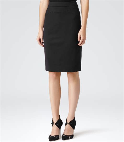 Formal Skirt by Sella Black Formal Pencil Skirt Reiss