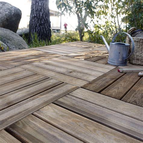 terrasse 80 x 40 dalle bois lumo l 50 x l 50 cm x ep 40 mm leroy merlin