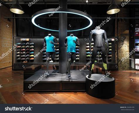 concept design usa new york usa january 22 2015 nike running concept store