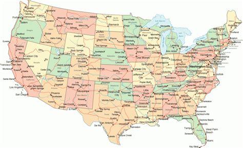 map of continental usa cartina america politica e fisica dove trovarla