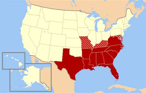map usa southern states opinions on southern united states