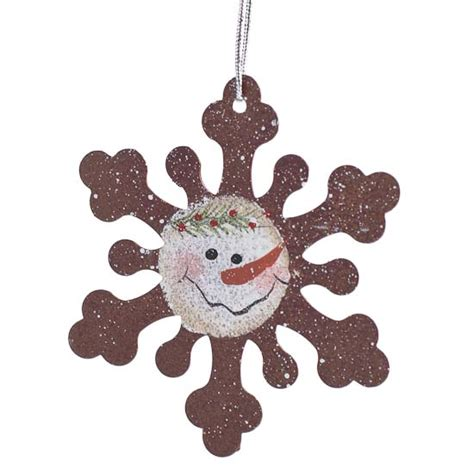 miniature holiday snowflake ornament christmas ornaments