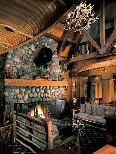 a fireplace for the ages sunnyside lodge near tahoe