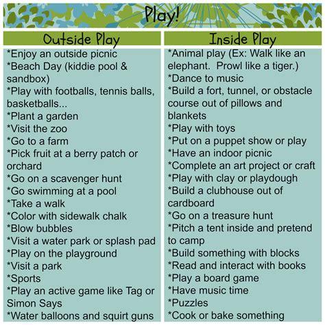the of preschool activities - Activities Ideas