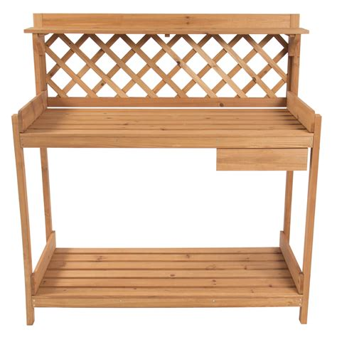 outdoor work bench potting bench outdoor garden work bench station planting