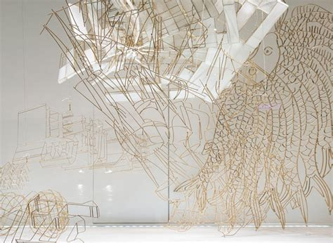 How To Make Paper Out Of Bamboo - ai weiwei bamboo and paper sculptures in 2