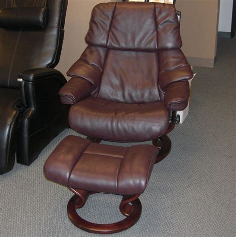 stressless leather recliners stressless royalin amarone leather by ekornes stressless