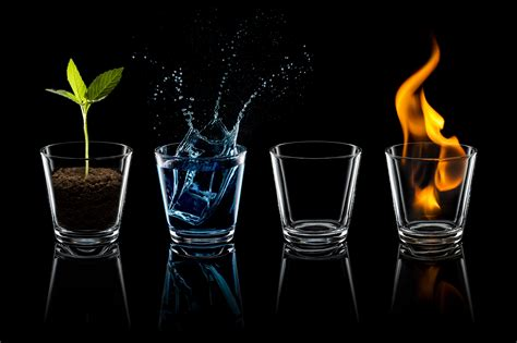 wallpaper classical elements the elements fire earth air and water