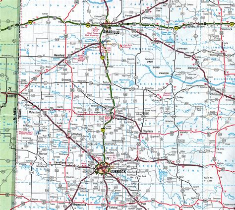 texas panhandle map of cities map of amarillo texas panhandle pictures to pin on pinsdaddy