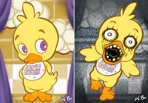 Five nights at freddy s art card 3 chica by kevinbolk on deviantart