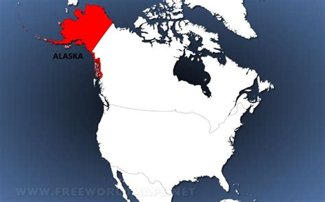 where is alaska on a map where is alaska located on the map