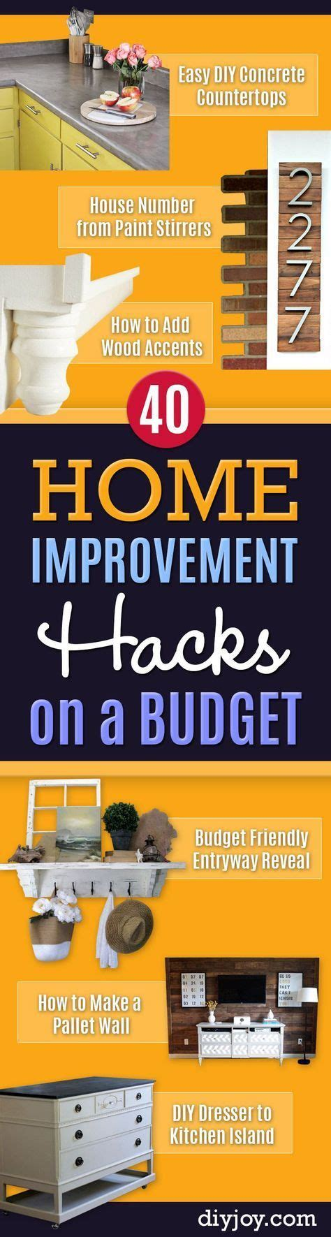 diy home improvement hacks best 25 home improvement projects ideas on pinterest