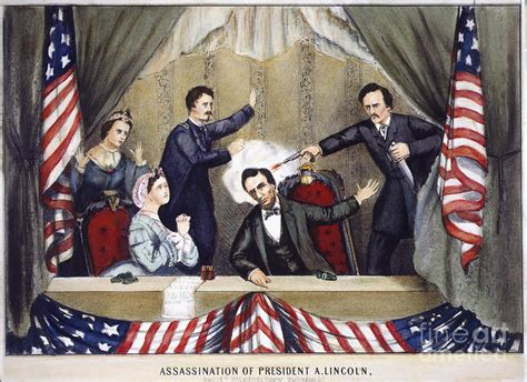 assassinated lincoln lincoln assassination photograph by granger