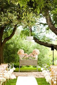 Outdoor Ceremony Decor by Wedding Altars Cdl Bridal