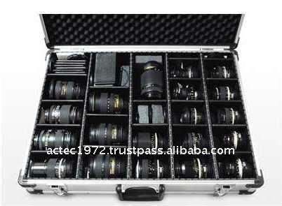 aluminum storage box case for single lens reflex slr