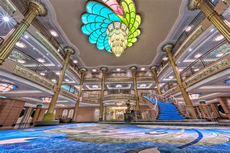 Disney Dream Floor Plan It S All In The Details The Atrium Lobby Of The Disney