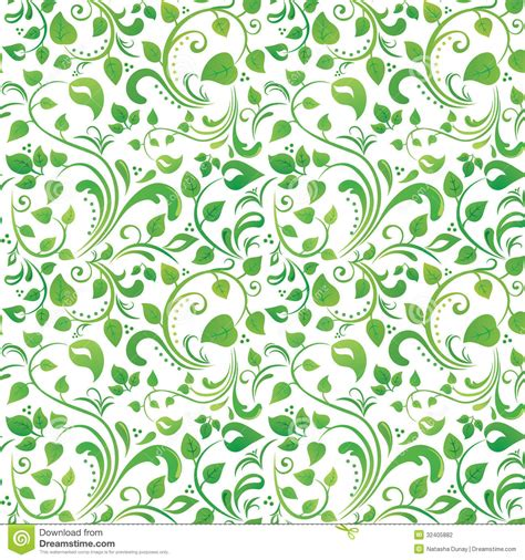 flower pattern green green floral pattern stock vector image of texture
