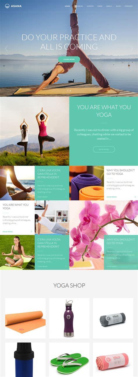 themeforest yoga asana sport and yoga wordpress theme by highsea