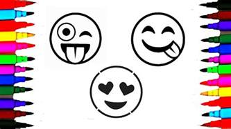 color emoji how to draw and color emoji l emoji faces coloring pages