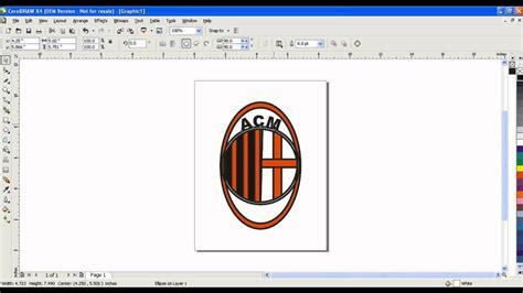 tutorial membuat logo youtube tutorial membuat logo ac milan dengan mengunakan youtube