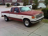 1987 ford f150 lariat xlt 4x2 low miles for sale: photos
