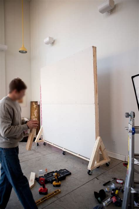 movable walls on wheels movable wall on wheels diy pinterest backdrops diy