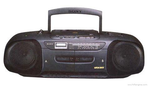 cd cassette recorder sony cfd 110 manual portable cd radio cassette