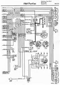 wiring diagrams of 1964 pontiac chief bonneville and grand prix part 2 61043