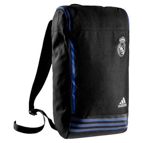 tas real madrid white black real madrid backpack black white www unisportstore