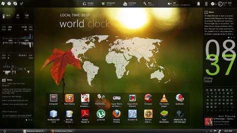 themes photos free download enigma windows 7 rainmeter skin