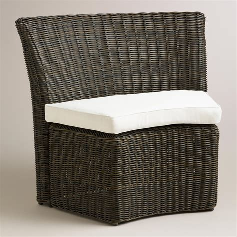 world market settee all weather wicker solano outdoor quarter settee world
