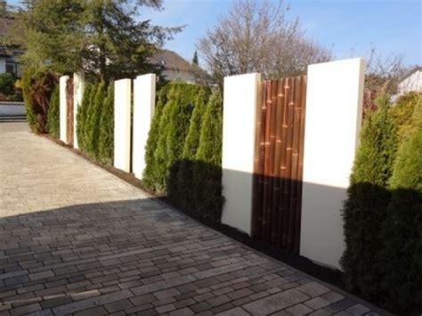 Stehlen Modern by Sichtschutz Garten Design Hang Garten