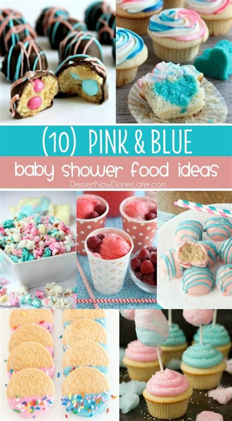 Easy Baby Shower Food Ideas by 10 Baby Shower Food Ideas Dessert Now Dinner Later
